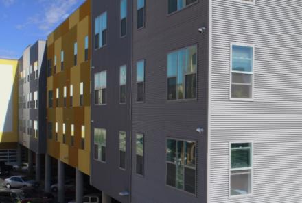 Vinyl Windows Enhance a Modern Landmark in an Artisan Community